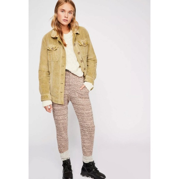 Free People Pants - Free People The Cozy Knit Trouser